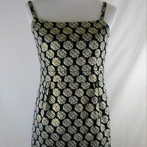 Target Limited Edition Gold Polka Dot Dress